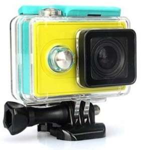 HIGAR Water proof Case Cover for Xiaomi Yi Sport Action Camera - Green