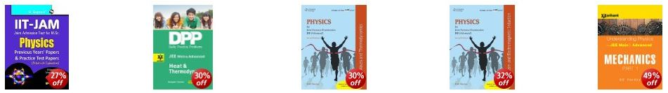 IIT JEE Exam Prep Books