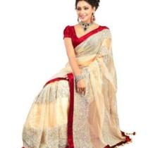 IndiansEFashion Self Design Bollywood Net Sari