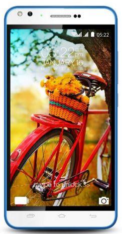 Karbonn Titanium Machfive (White-Blue) Mobile Phone @ Rs 5999