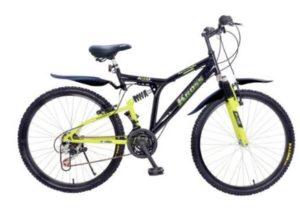 Kross K- 40 26T Multi Speed Bicycle (Black Green)