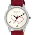 Laurels Original February White Dial Women's Watch @ Rs 325