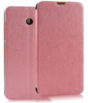 Leather Flip Stand Back Case Cover For Nokia Lumia 630 635 638 Dual Sim