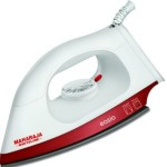 Maharaja Whiteline Easio 1000-Watt Dry Iron (White and Red) @ Rs 449
