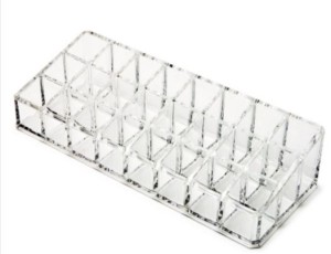 Mcp 24 Compartment Acrylic Cosmetic Organizer Makeup Vanity Case
