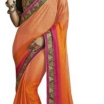 Melluha Embriodered Fashion Jacquard Sari