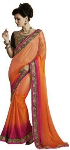 Melluha Embriodered Fashion Jacquard Sari @ Rs 1999