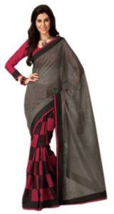 Nikita Sarees Printed Bhagalpuri Silk Sari(Pack of 2)