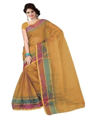 Nikita Sarees Printed Fashion Tissue Saree @ Just Rs 221