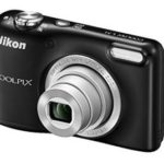 Nikon Coolpix L31 16.1MP Point And Shoot Digital Camera (Black) with 5x Optical Zoom,8GB Memory card and case