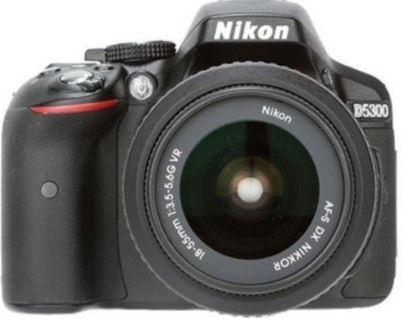 Amazon Nikon D5300 24.2MP Digital SLR Camera (Black) with 18-55mm VR II Kit Lens, 8GB Card and Camera Bag