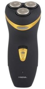 Nova Three Cutter Head Razor NV-178-BLK Shaver For Men