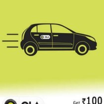Ola Rs.100 voucher @ 19 (One per phone number)