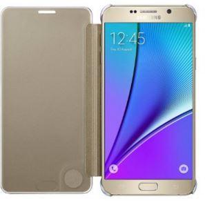 Original Samsung Galaxy Note 5 Clear View Flip Cover Case