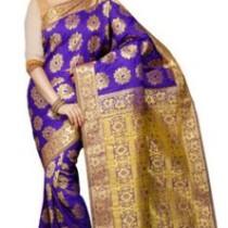 Pavechas Printed Kanjivaram Art Silk Saree