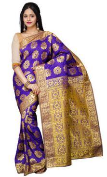 Pavechas Printed Kanjivaram Art Silk Saree @ Rs 2399
