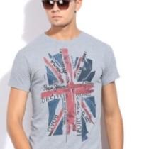 Pepe Printed Men's Round Neck T-Shirt