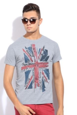 Pepe Printed Men's Round Neck T-Shirt @ Rs 799