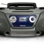 Philips AZ-1852/98 Mp3/CD Player (Silver)