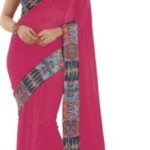 Prafful Floral Print Fashion Georgette Sari @ Rs 1499
