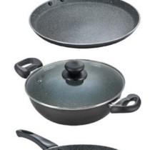 Prestige Cookware Set(PTFE (Non-stick), 3 - Piece)