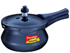 Prestige Deluxe Plus Hard Annodised Pressure Handi 2 L Pressure Cooker(Induction Bottom, Aluminium)