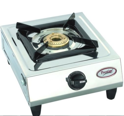 Prestige Prithvi Stainless Steel Manual Gas Stove(1 Burners) @ Rs 1404