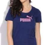 Puma Printed Women's Round Neck T-Shirt @ Rs 899