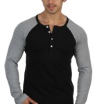 Rigo Solid Men's Henley T-Shirt @ Rs 454