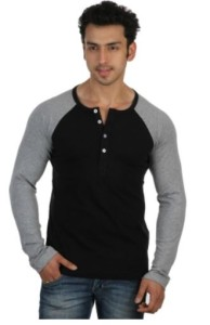 Rigo Solid Men's Henley T-Shirt