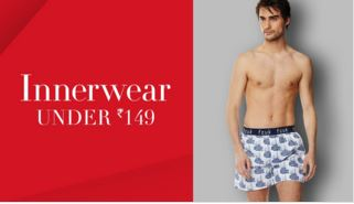 Sabse Sasta Men's Innerwear Under ₹149 From Top Brands In Amazon India