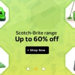 Flipkart Offer minimun 50%  discount on the Scotch-Brite™  products