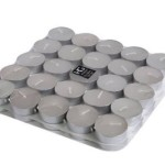Set of 50 Hosley® Unscented Tealights