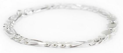 Silverwala Tendulkar Silver Bracelet