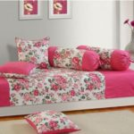 Swayam Cotton Printed Diwan Set(1 Sheet, 3 Cushion Covers, 2 Bolster Covers) @ Rs 1,484