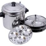 Tallboy SS Murgan Cooker 4 plates Induction Idli Maker(4 Plates) @ Rs 719