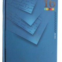Today's Executive New Year Diary 2016 - A5, 390 Pages, 70 SGM, Hard Bound