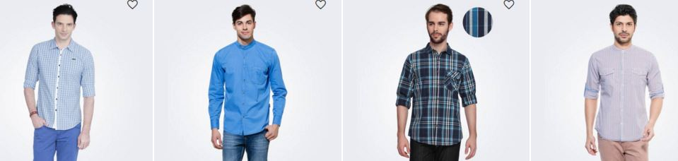 UPTO 50 OFF ON SHIRTS