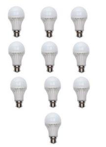 Ujjawal 15 W LED Bulb(White, Pack of 10)