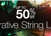 Upto 50 Off on decorative string lights