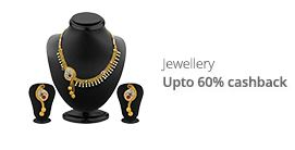 Upto 60 percent caskback on jewellery from paytm