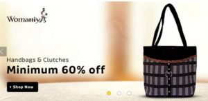 Womaniya Handbags Online @ Best Price today up to 60 off