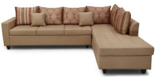hometown Belmont Lhs Fabric 6 Seater Sectional