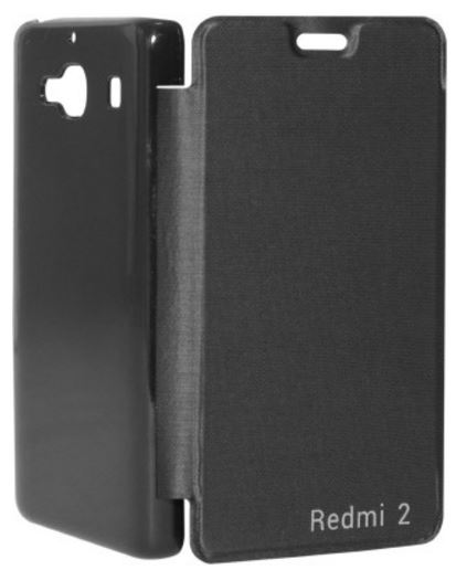 iCopertina Flip Cover for Xiaomi Redmi 2 (Black) Price: Rs. 249