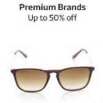 Flipkart Offer  : Upto 50% discount on the premium sun glasses