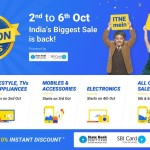 Flipkart Big Billion Day 2016 Sale & Sasta Deals- October 2, 2016 till October 6, 2016