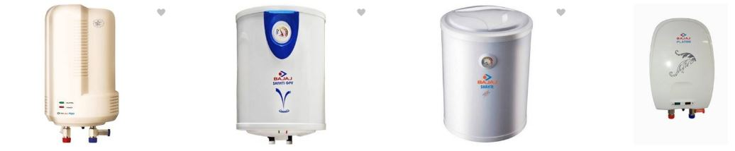Bajaj Water Geysers at Great Discounted prices