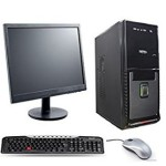 COMPLETE DESKTOP COMPUTER Intel Core 2 Duo/2 gb/250 gb/15.6 inch LED @ Rs 10200