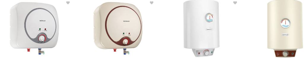 Havells Water Geysers at Great Discounted prices