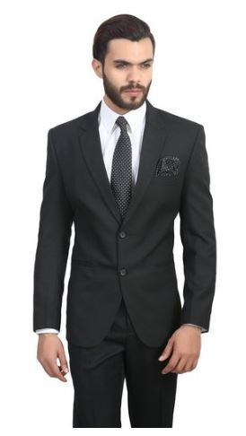 ManQ Slim Fit Formal/Party Men's Blazer